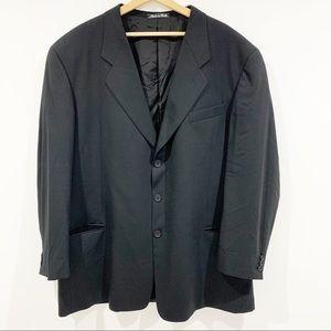 Giorgio Armani Collezioni wool blazer sz 48L Long